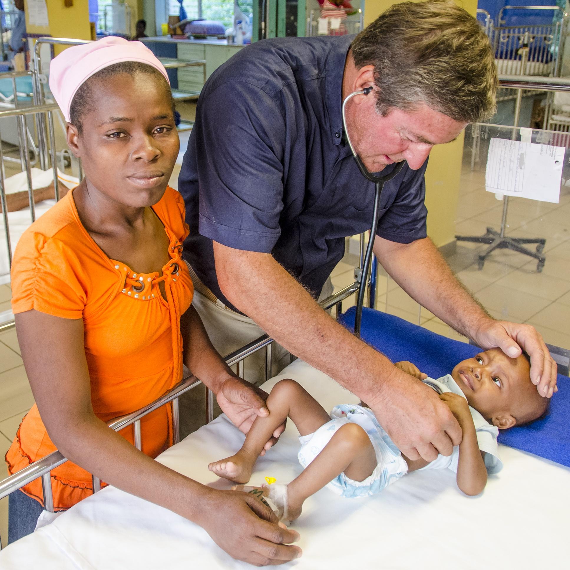 Progetto Ospedale St. Damien Haiti Natale Fondazione Rava