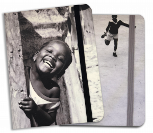 Notes bambini di Haiti